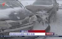 国际快讯:斯洛伐克高速路40辆车连撞