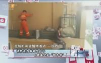 """20170509《拍案看天下》消防员为救轻生女子 15楼高空走""""独木桥""""!"""