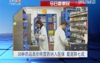 今日最惠民:36种药品高价刚需药纳入医保 最高降七成