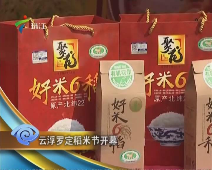 云浮罗定稻米节开幕