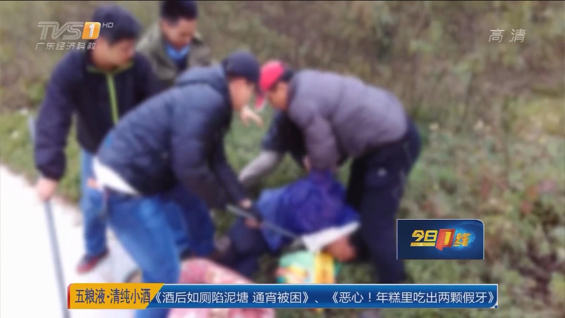 肇庆高要:大巴车离奇伤人案 警方迅速缉凶