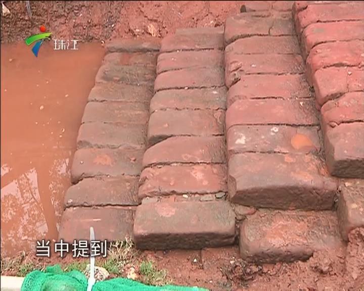 惠州:千年古码头重见天日 专家称为苏东坡泊岸遗址