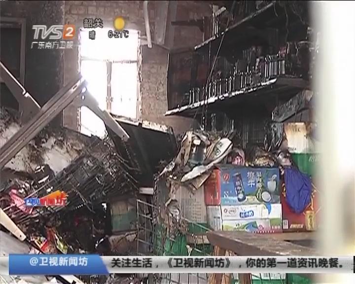 阳江:小卖部发生火灾 两男童遇难