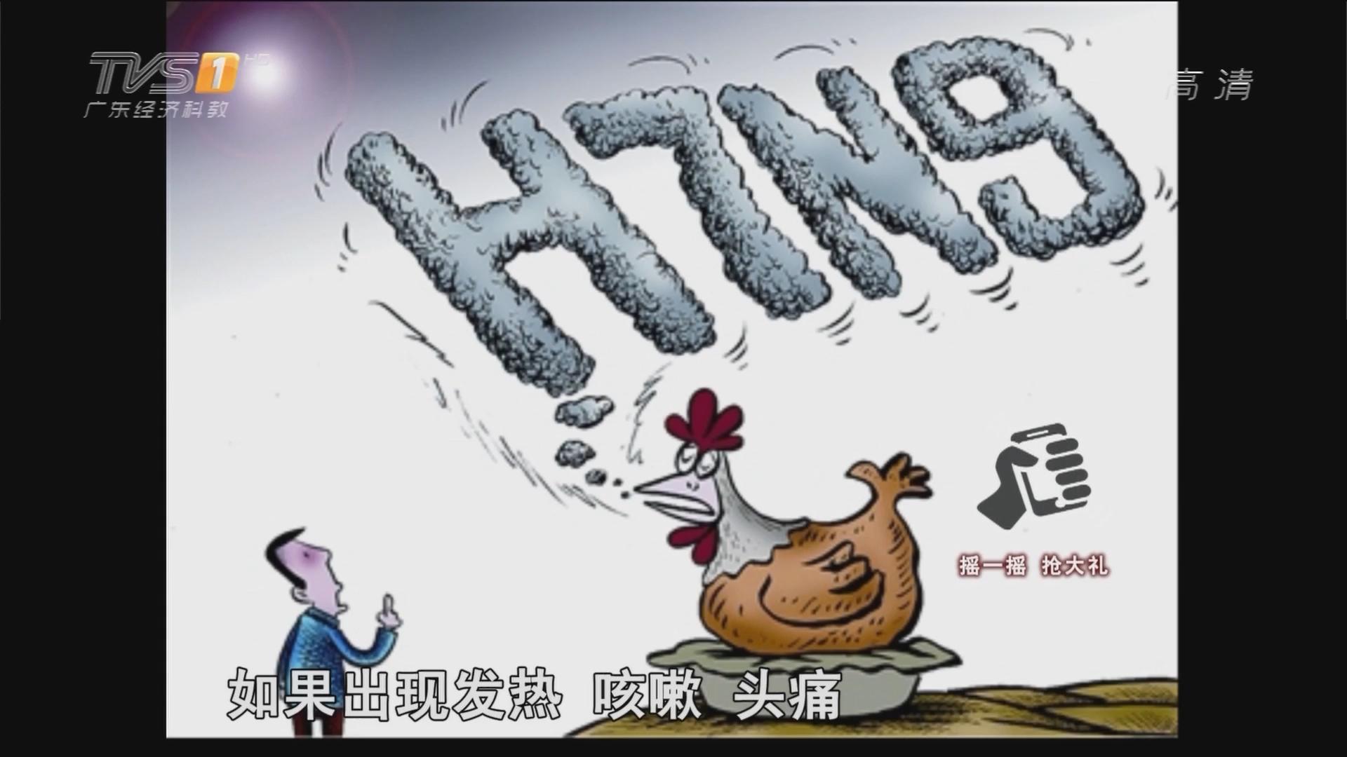 揭阳男子感染H7N9 今年9例中有三亡