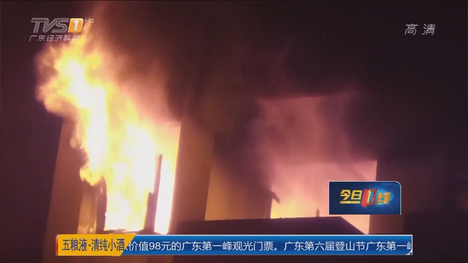 汕尾海丰:汕尾警方通报一起杀人纵火案