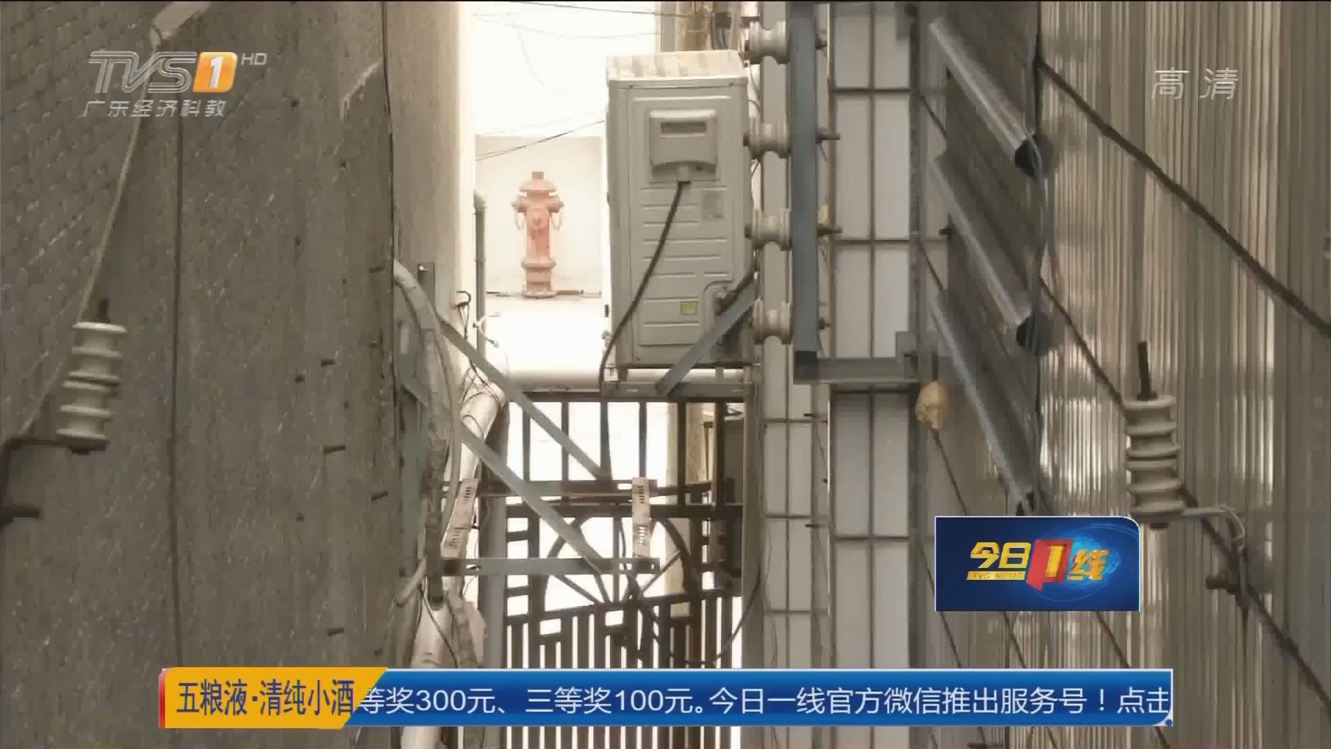 中山古镇:空调只吹风 原来主机被偷