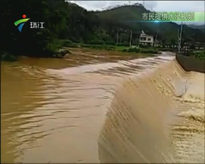 梅州:暴雨致多地现洪涝灾害
