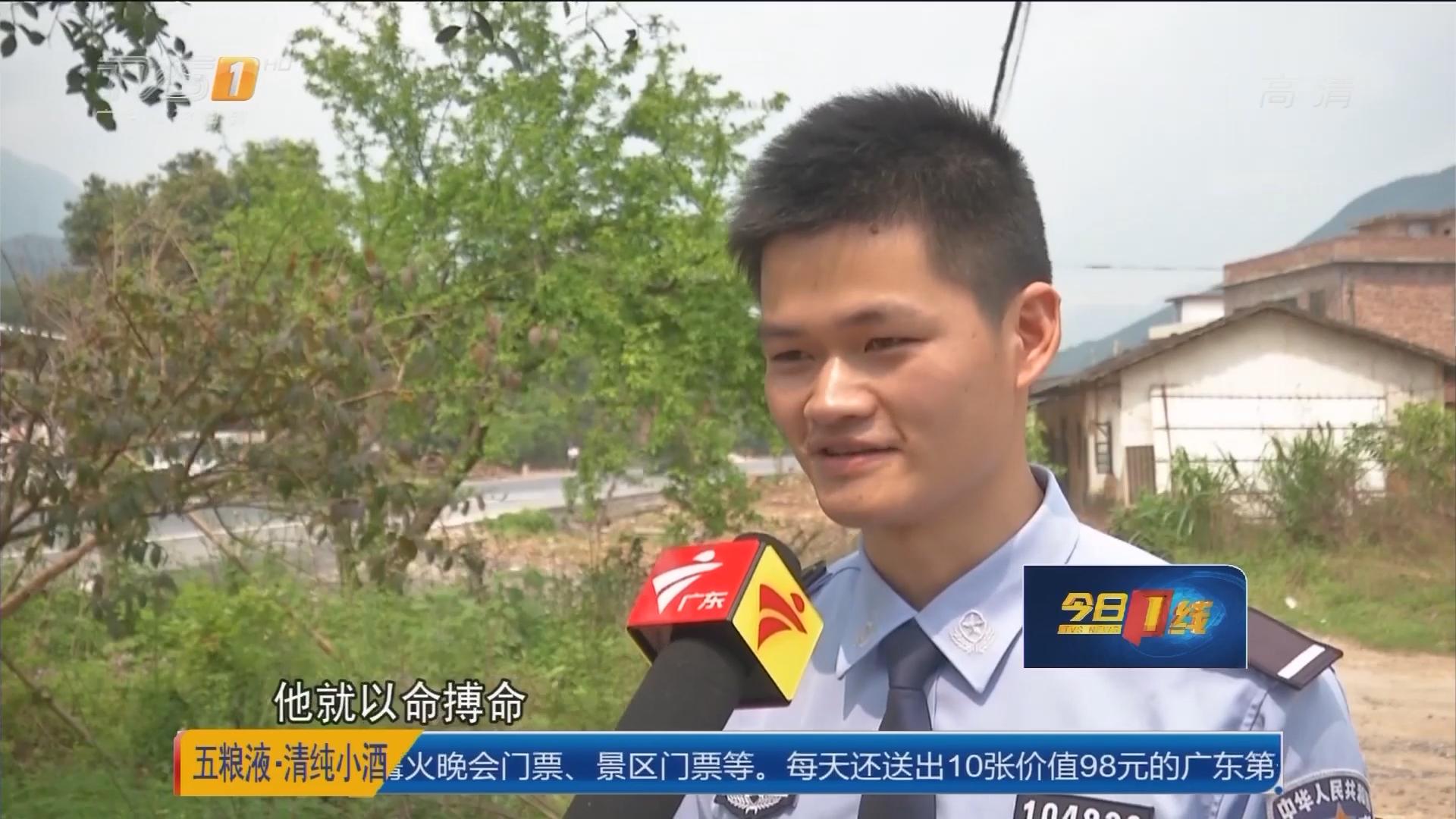 韶关新江镇:被举报乱伐林地 嫌犯人报复行凶
