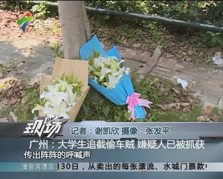 广州:大学生追截偷车贼 嫌疑人已被抓获