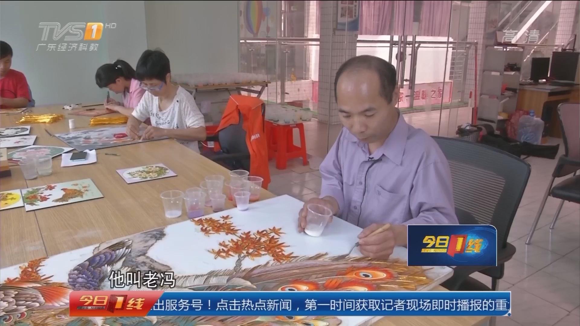 助残日策划:佛山顺德陈村镇 精美景泰蓝 残疾人工作室出品