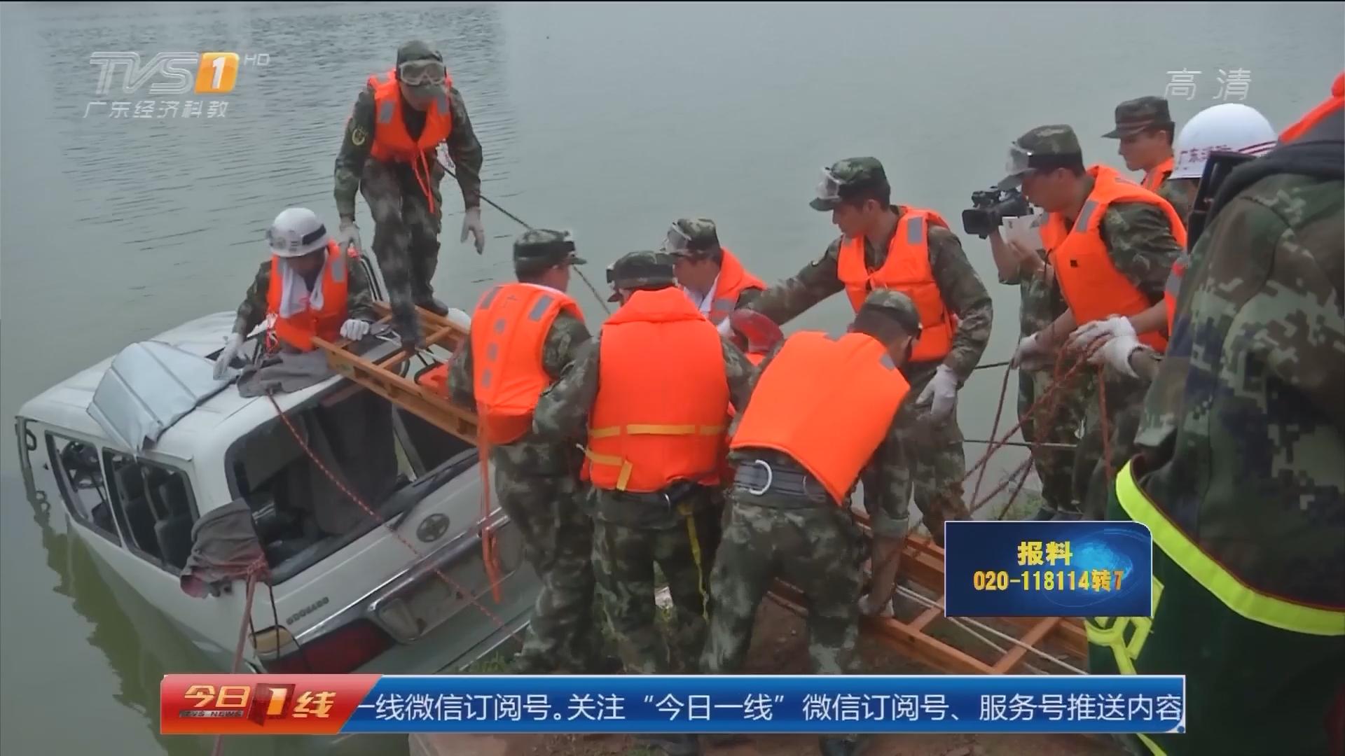 佛山三水区:汛期临近 省消防组织抗洪抢险演练