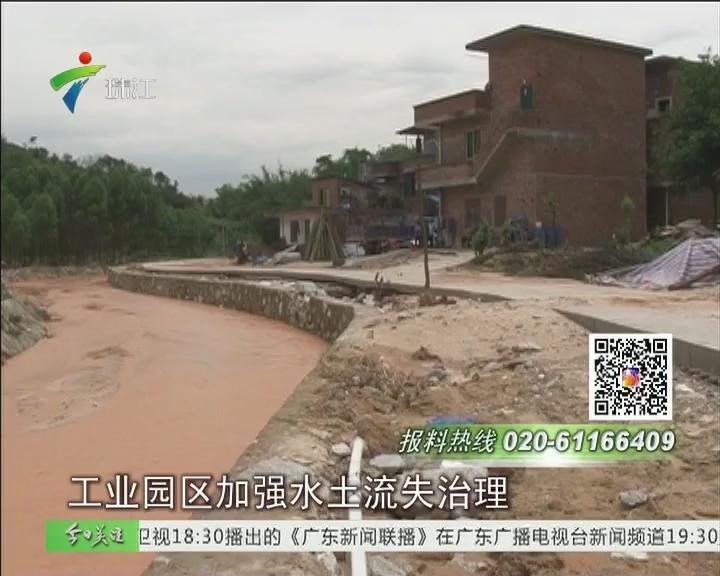 清远:降雨致河水暴涨 三村受浸