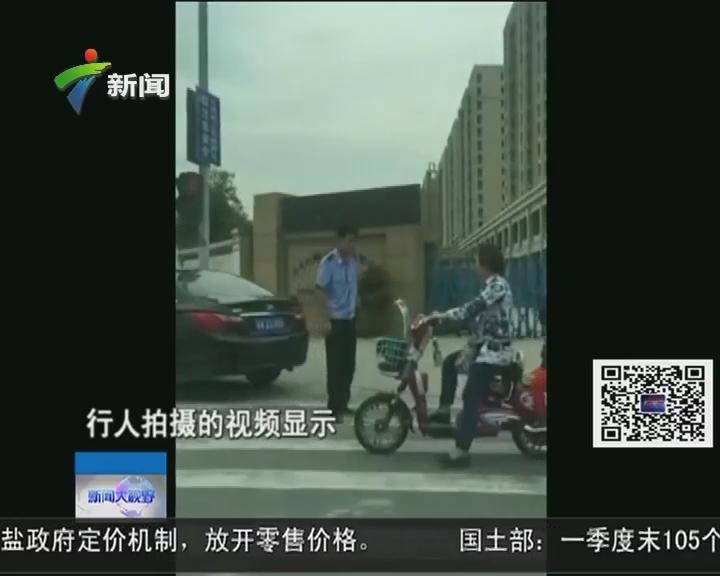 杭州:交通协管员掌掴骑车人被拘留7天