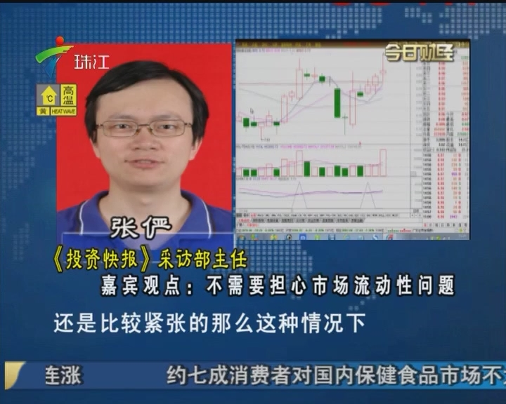 张俨:不需要担心市场流动性问题