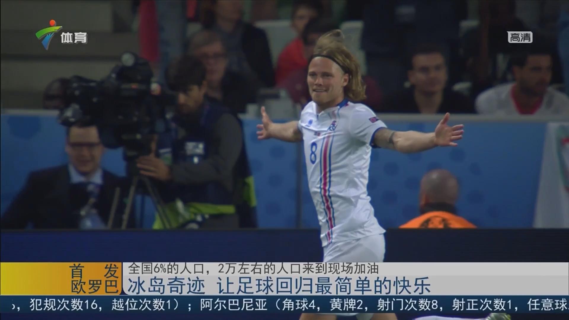 冰岛奇迹 让足球回归最简单的快乐