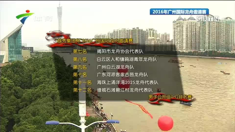 2016年广州国际龙舟邀请赛