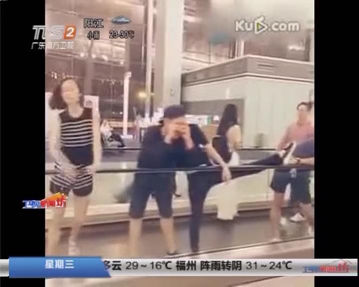 广州白云机场:飞机晚点 芭蕾舞演员即兴表演