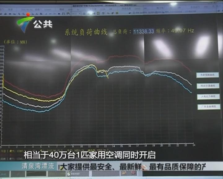 广州:用电负荷 刷出新纪录