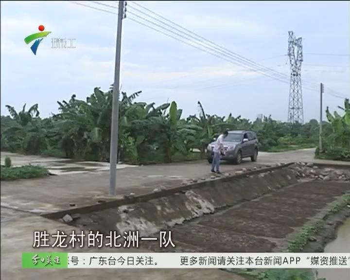 中山:农田中建路网 违建又抬头?