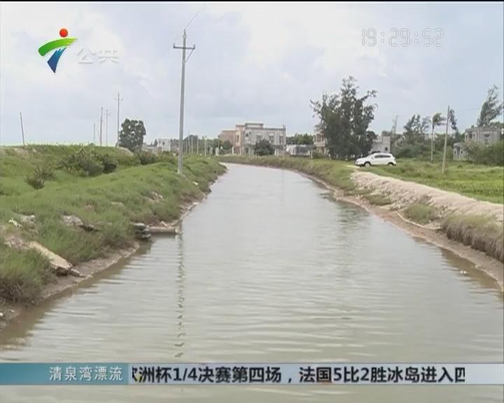 湛江:8岁男童坠入排水沟溺亡