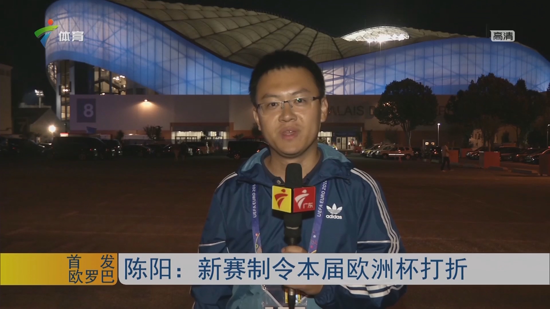陈阳:新赛制令本届欧洲杯打折