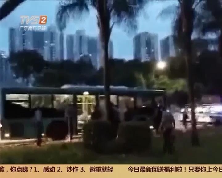 创建平安广东:深圳福田 男子劫持7岁男童 警方果断处置