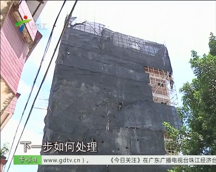 南海:违建7层还在建 断水断电拦不住