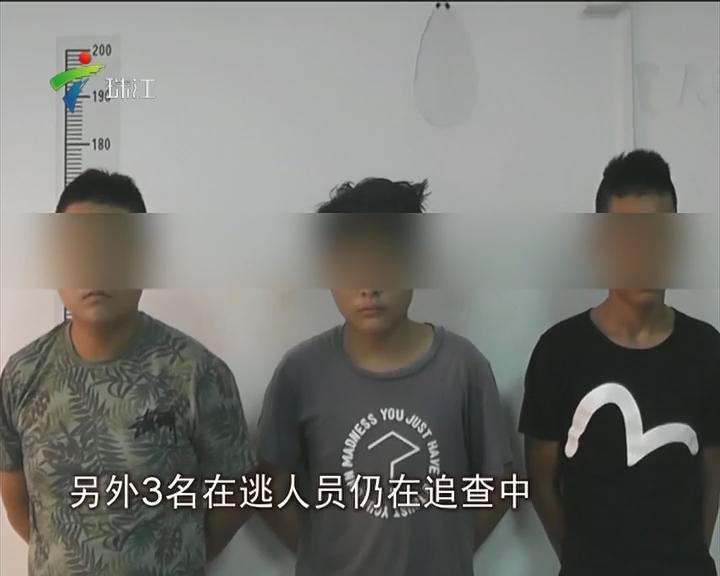 博罗:少年大胆抢劫 晒朋友圈被捕