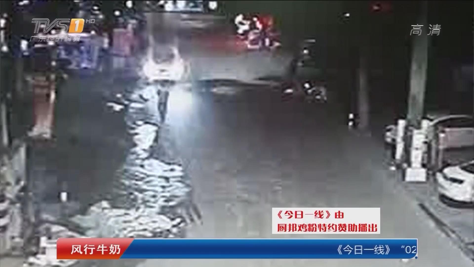 关注出行安全:不当低头族!中山:男子盯手机过马路被撞死
