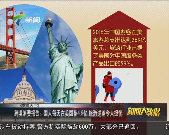 跨境消费报告:国人每天在美国花4.9亿 旅游逆差令人担忧