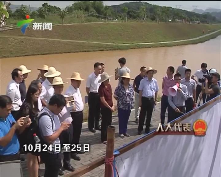 """省人大监督落实""""河长制""""推动""""四河""""污染整治"""