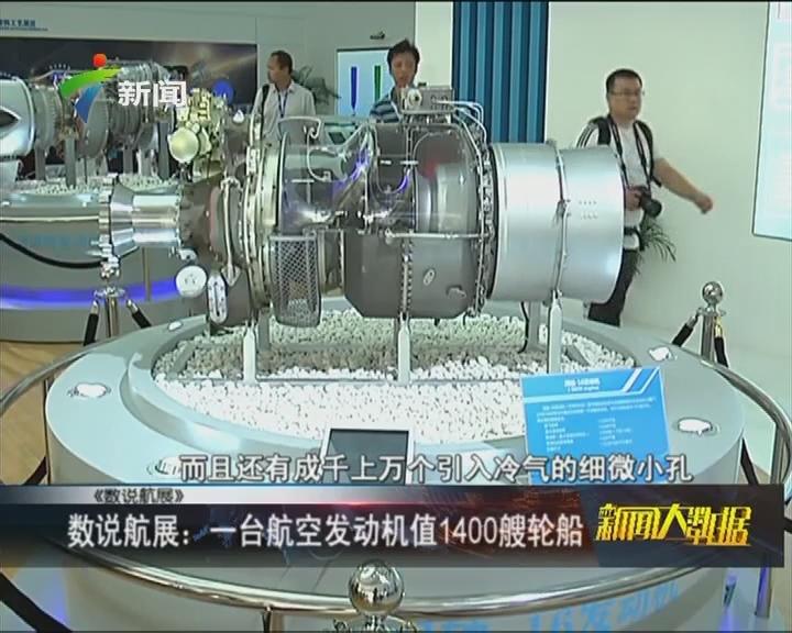 数说航展:一台航空发动机值1400艘轮船