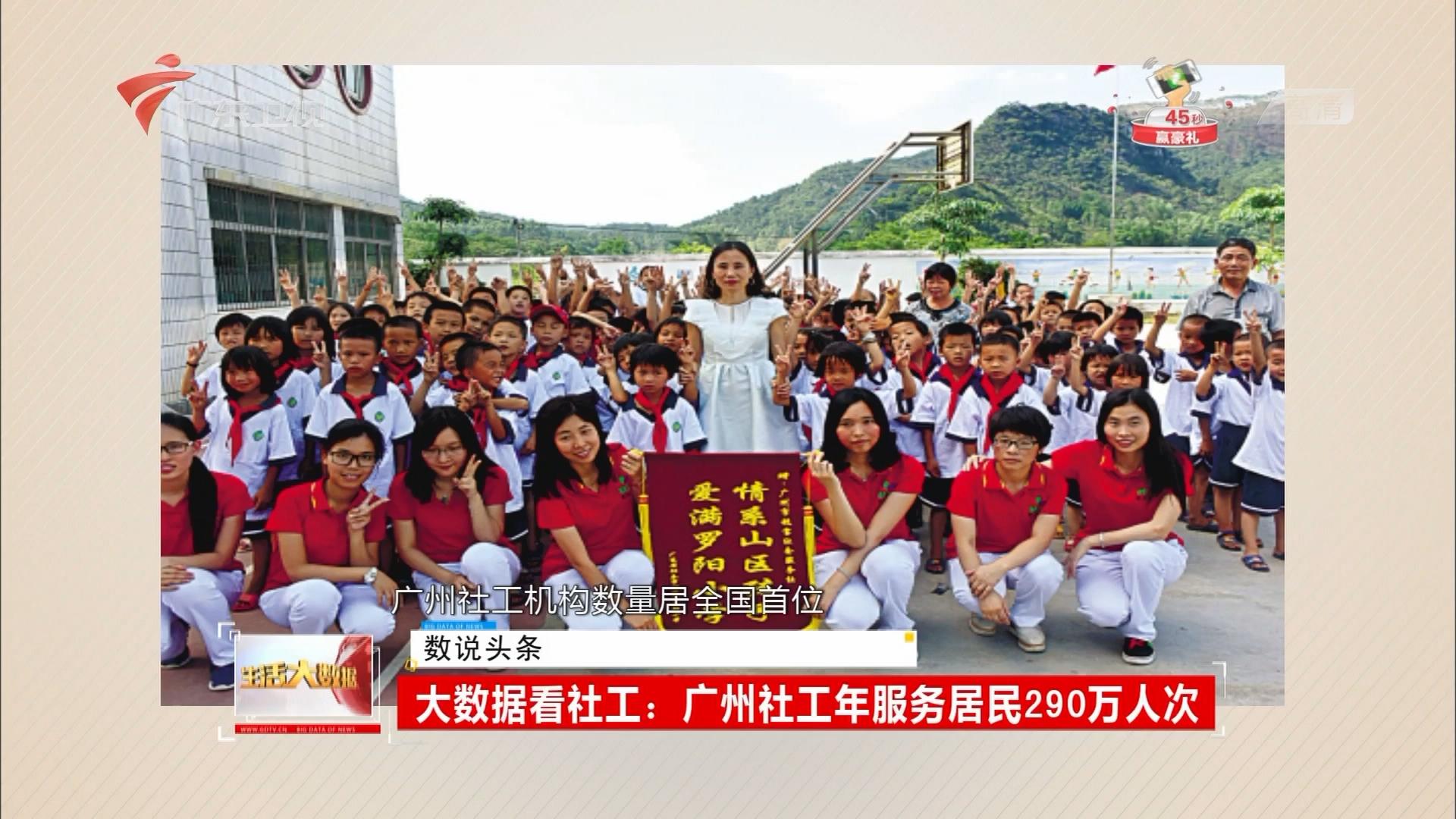 大数据看社工:广州社工年服务居民290万人次