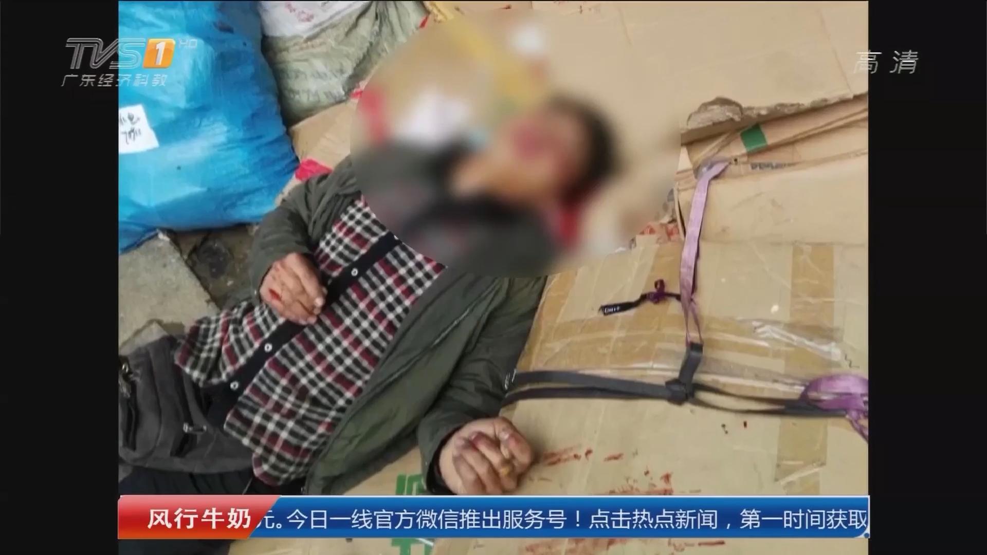 深圳龙华:被疑抢生意 竟遭老友铁棍敲头