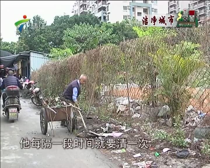 番禺:小区周边环境邋遢 街坊盼过干净年
