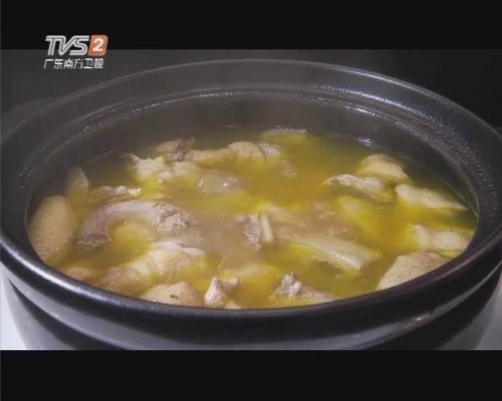 何首乌煲鸡