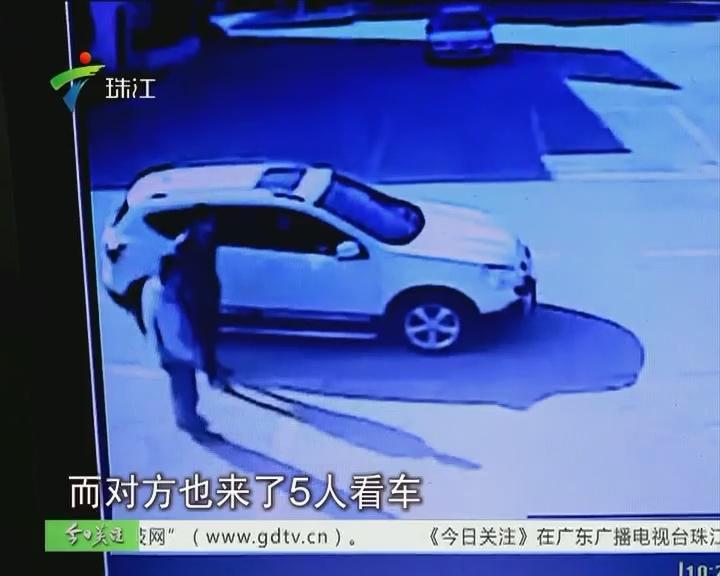 东莞:试车变抢劫 二手高档车被抢走