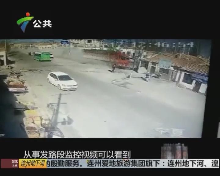 大货车冲入民宅 已造成5人死亡