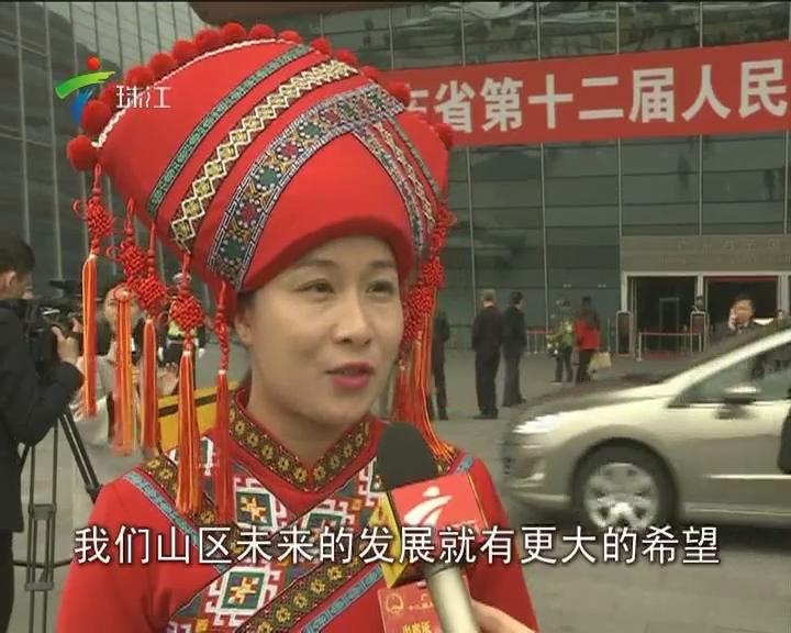 我台记者采访部分广东省人大代表 代表们表示深受会议鼓舞