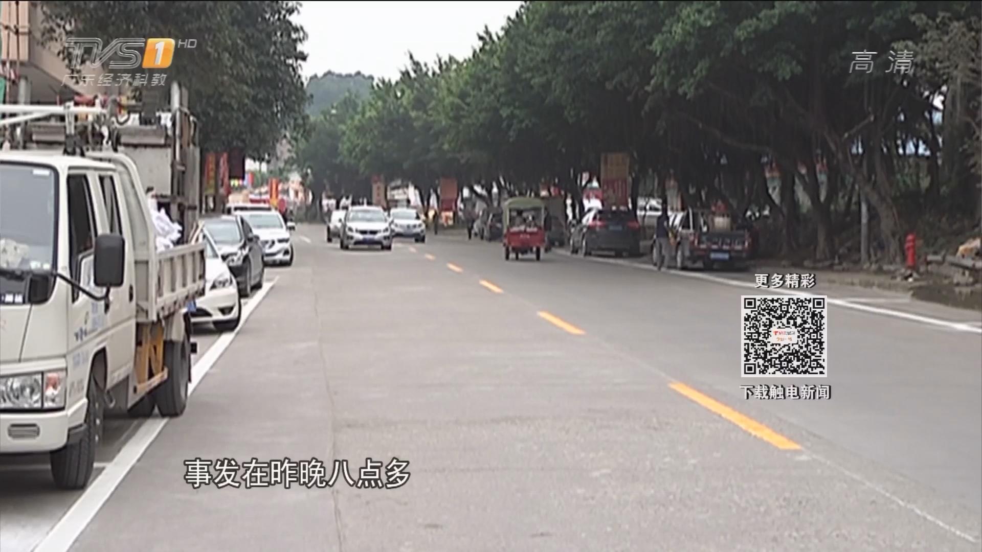 江门鹤山:遇交警设卡 逃逸司机被街坊当场按住
