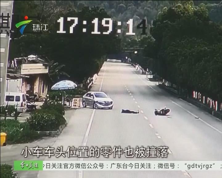 梅州:视频直击 车祸处理现场又出车祸