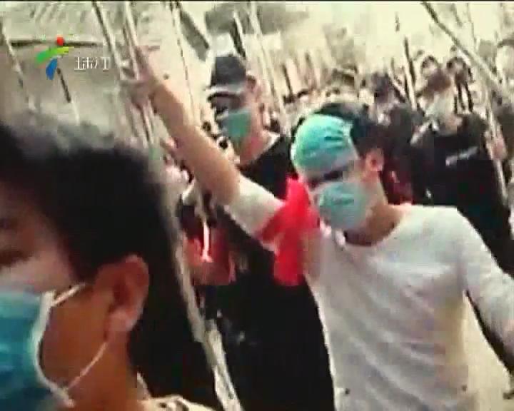 湛江雷州:猖狂!近百人持刀棍进村打砸