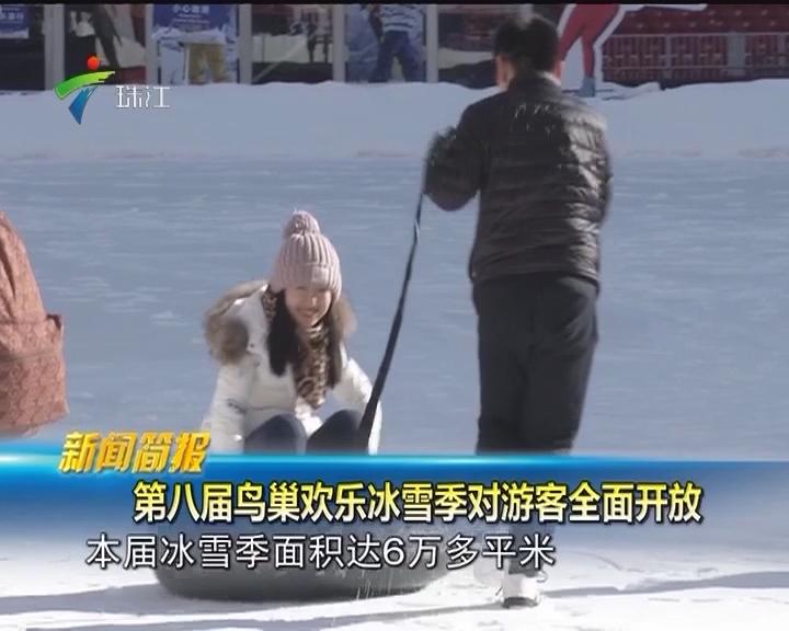 第八届鸟巢欢乐冰雪季对游客全面开放