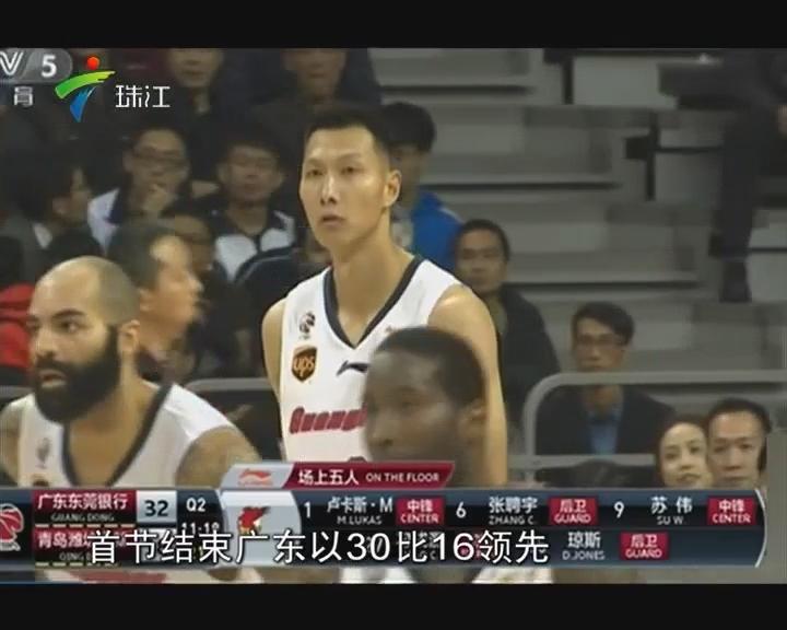 CBA:阿联复出广东大胜止连败