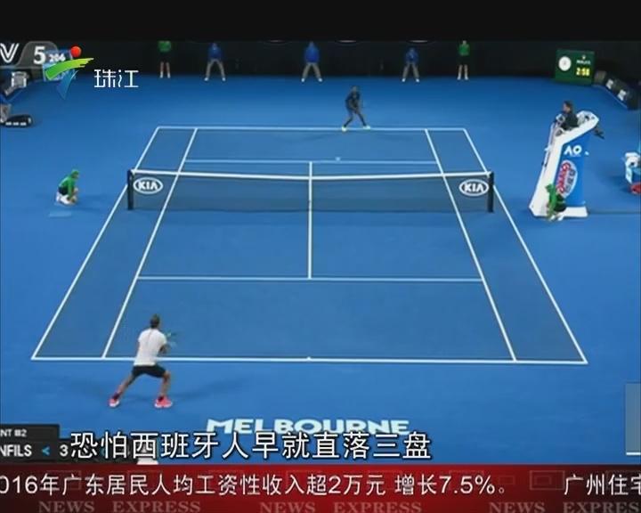 澳网:纳达尔 小威晋级八强