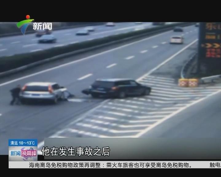 四川成都:司机遇事故处理得当 获交警点赞