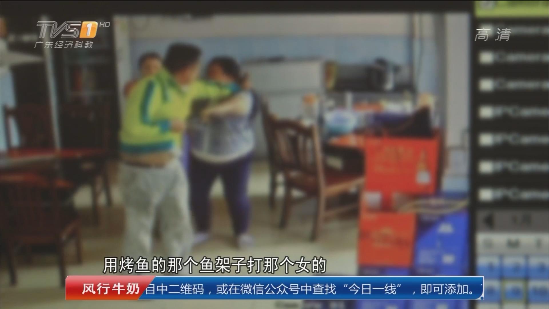 广州市白云区:男子刀砍女店员逃逸 当晚落网
