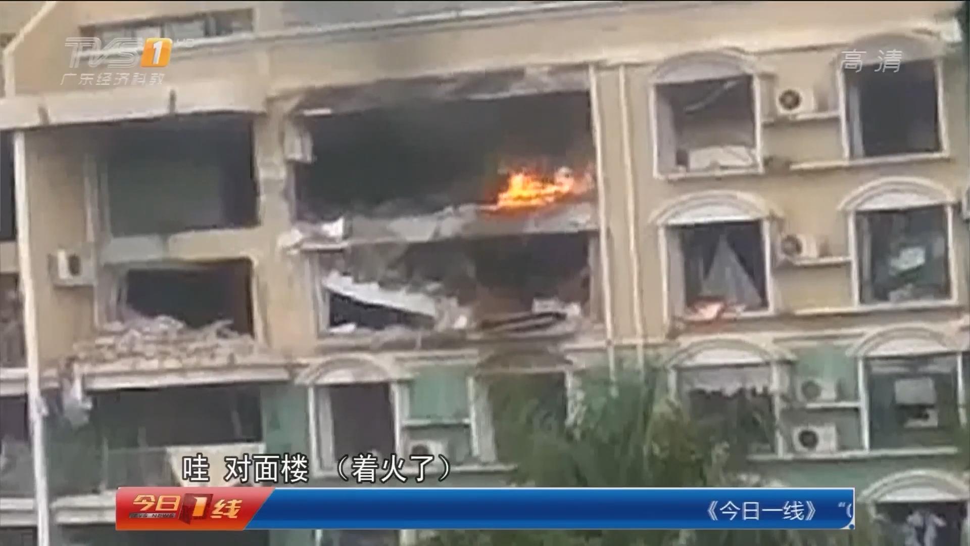 佛山顺德北滘:居民楼煤气爆炸 当地政府妥善安置