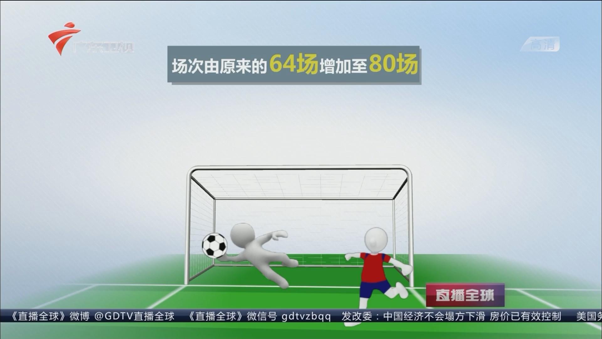 """2026年世界杯扩军至48支:赛制改变 球队多不等于比赛""""水"""""""