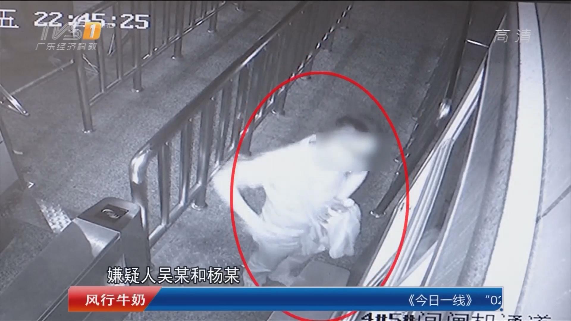 惠州:两小偷列车下手 盗得万元赃款